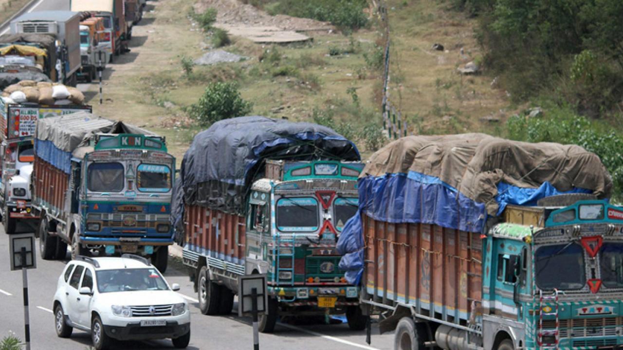 Kashmir Valley - curfew